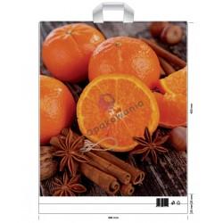 Reklamówki LDPE 39x45 Pomarańcze 10szt