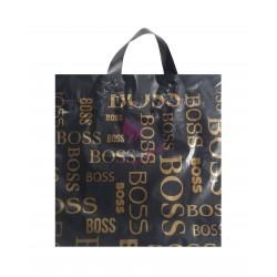 Reklamówki LDPE 32x33 Boss czarne 10szt